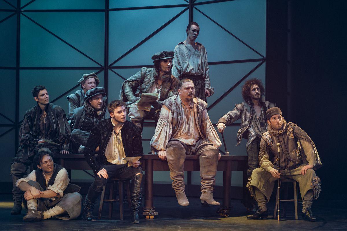 Спектакль «Влюблённый Шекспир» в Театре имени А. С. Пушкина фото 7