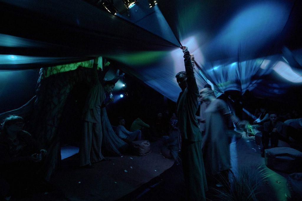 Спектакль «Ежик в тумане» в Московском театре кукол на Спартаковской фото 5