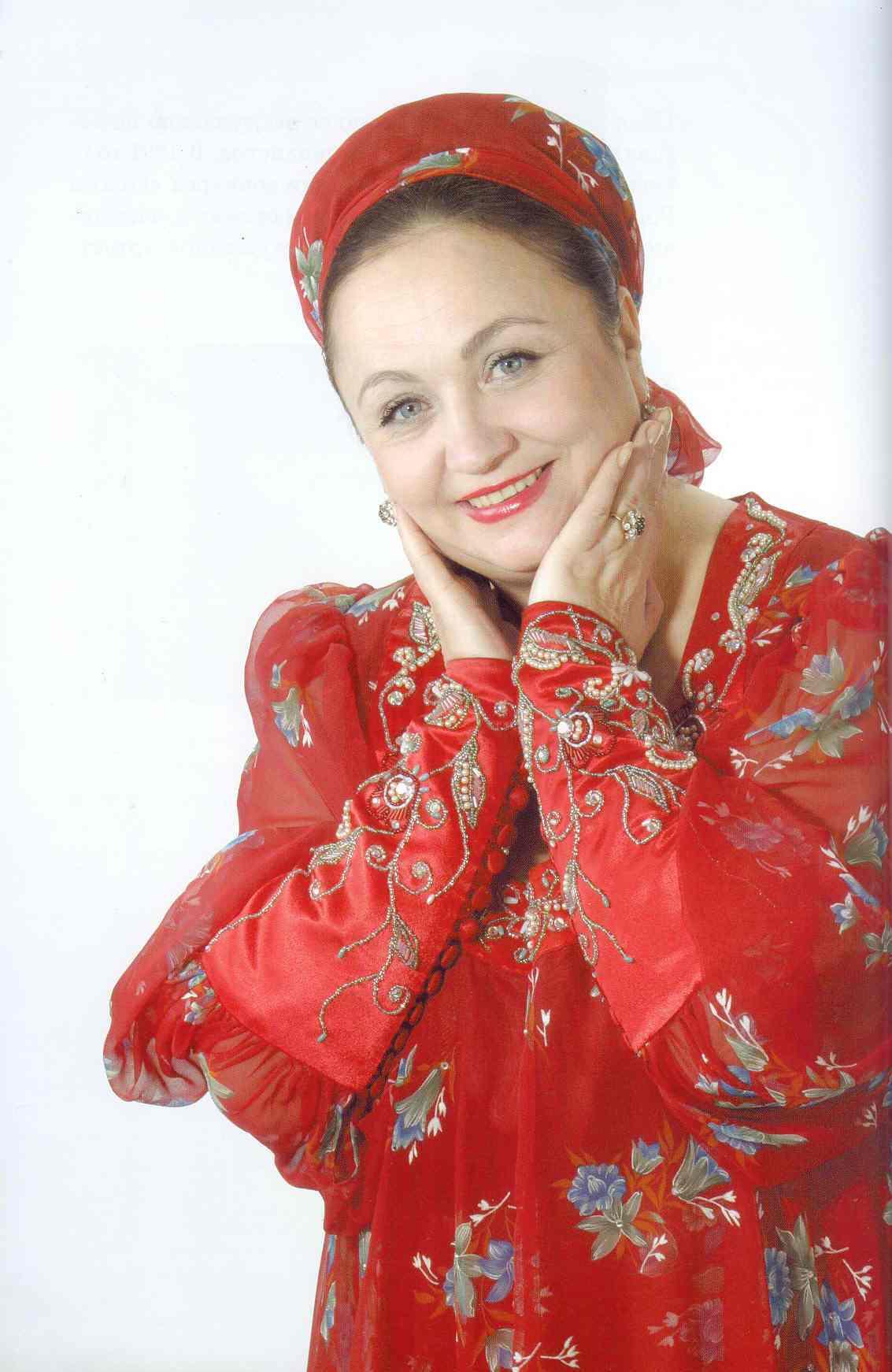 Русские современные народные певицы 4 фотография