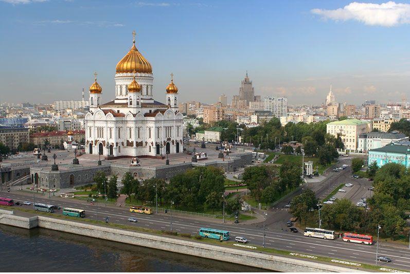 Четырёхчасовая обзорная автобусная экскурсия по Москве фото 2