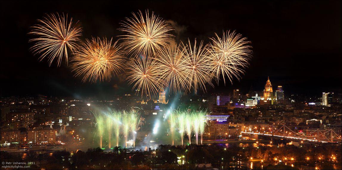 Просмотр салюта на 9 Мая с 90-го этажа «Москва-Сити» фото 2