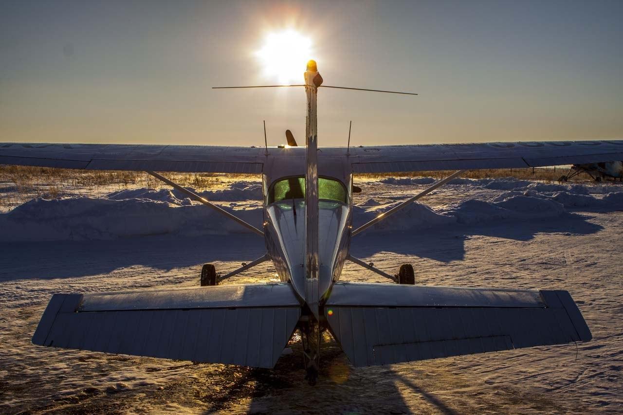 Романтический полёт на самолёте Cessna 172 фото 3