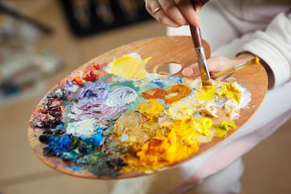 Картинки холста и красок заграничному отдыху