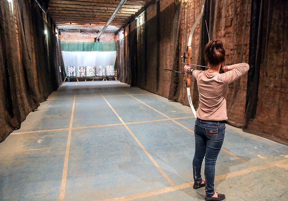 Занятия по стрельбе из лука и арбалета в клубе «Лабиринт» фото 7