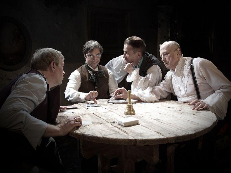 Спектакль «Игроки» в Театре им. Ермоловой фото 2