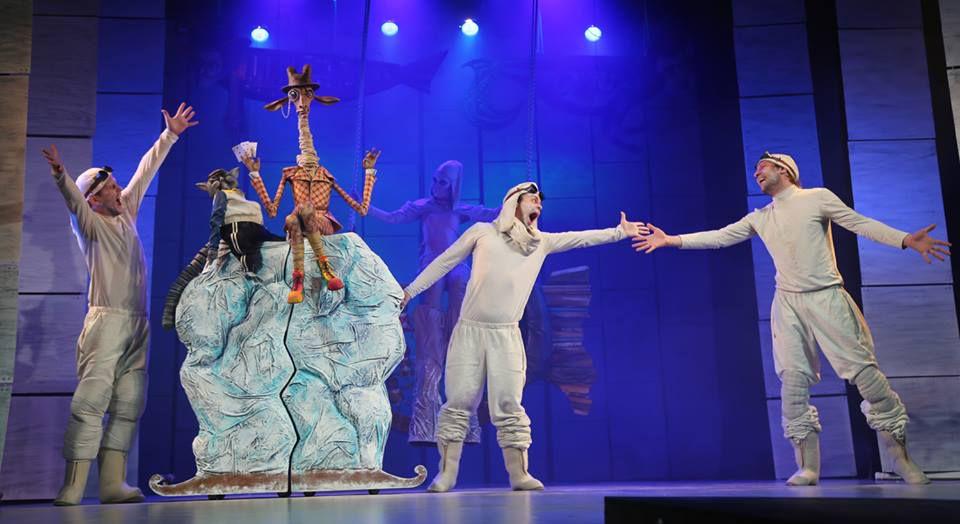 Спектакль «Морожены сказки» в Московском театре кукол на Спартаковской фото 3