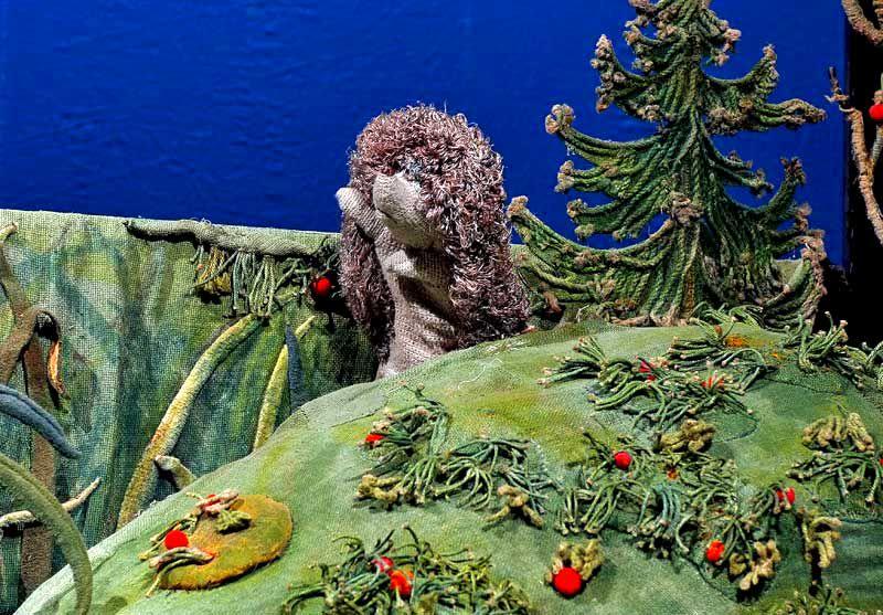 Спектакль «Хитрый Ежик» в театре кукол им. С.В. Образцова фото 1