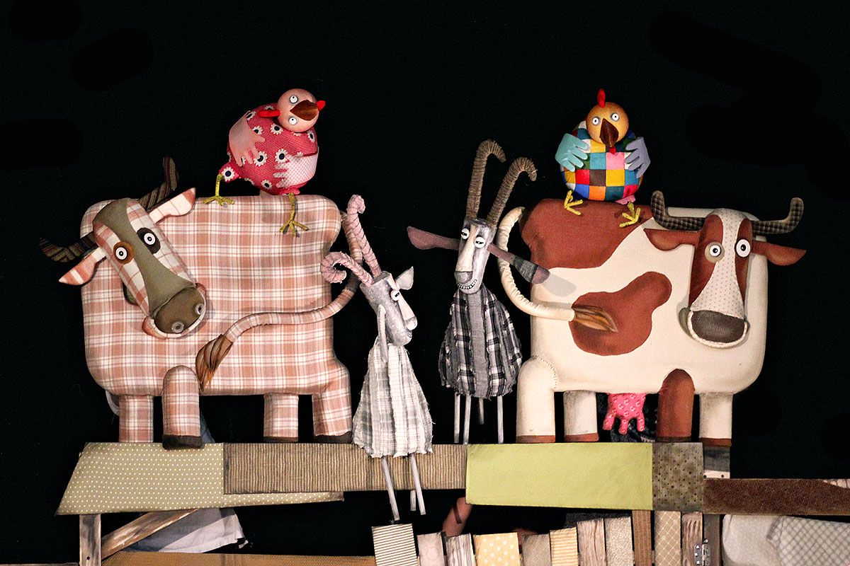 Спектакль «Гусёнок» в Московском театре кукол на Спартаковской фото 3
