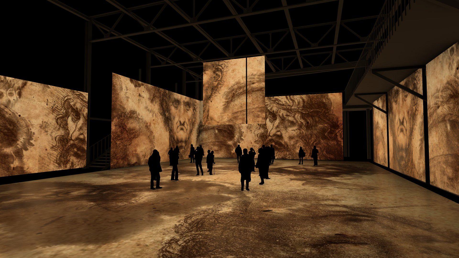 Мультимедийная выставка «Леонардо да Винчи. Тайна гения» фото 4