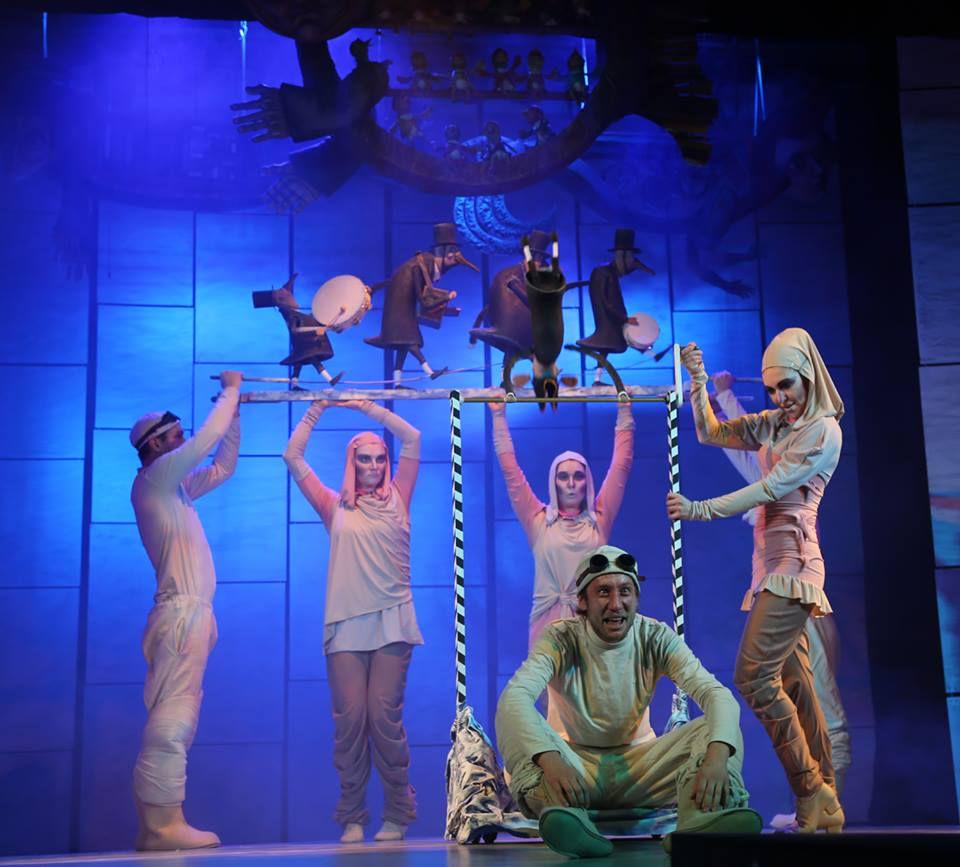 Спектакль «Морожены сказки» в Московском театре кукол на Спартаковской фото 6