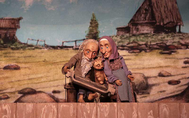 Спектакль «Сказка о рыбаке и рыбке» в Театре кукол им. С. В. Образцова фото 3