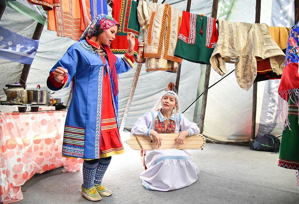 XV Всероссийский фестиваль культур коренных малочисленных народов Севера, Сибири и Дальнего Востока «Кочевье Севера»