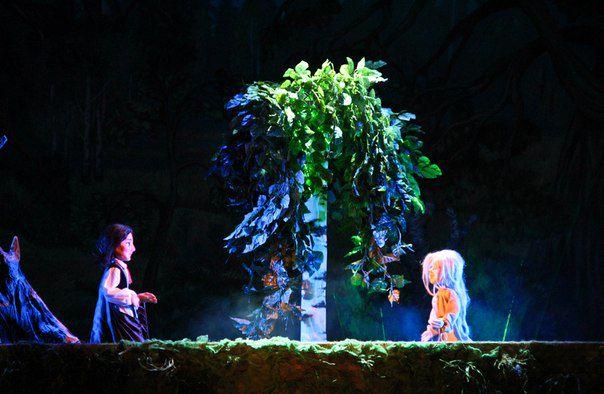 Спектакль «Заколдованный лес» в Сказочном театре фото 1