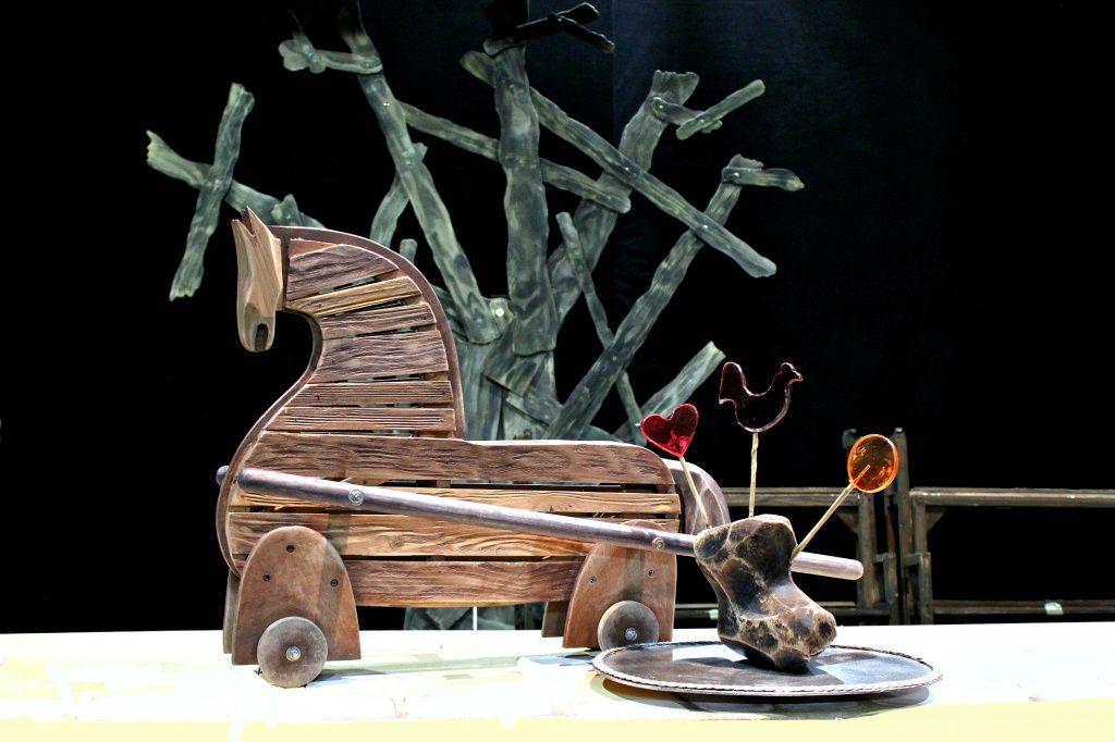 Спектакль «Царевна лягушка» в Московском театре кукол на Спартаковской фото 2