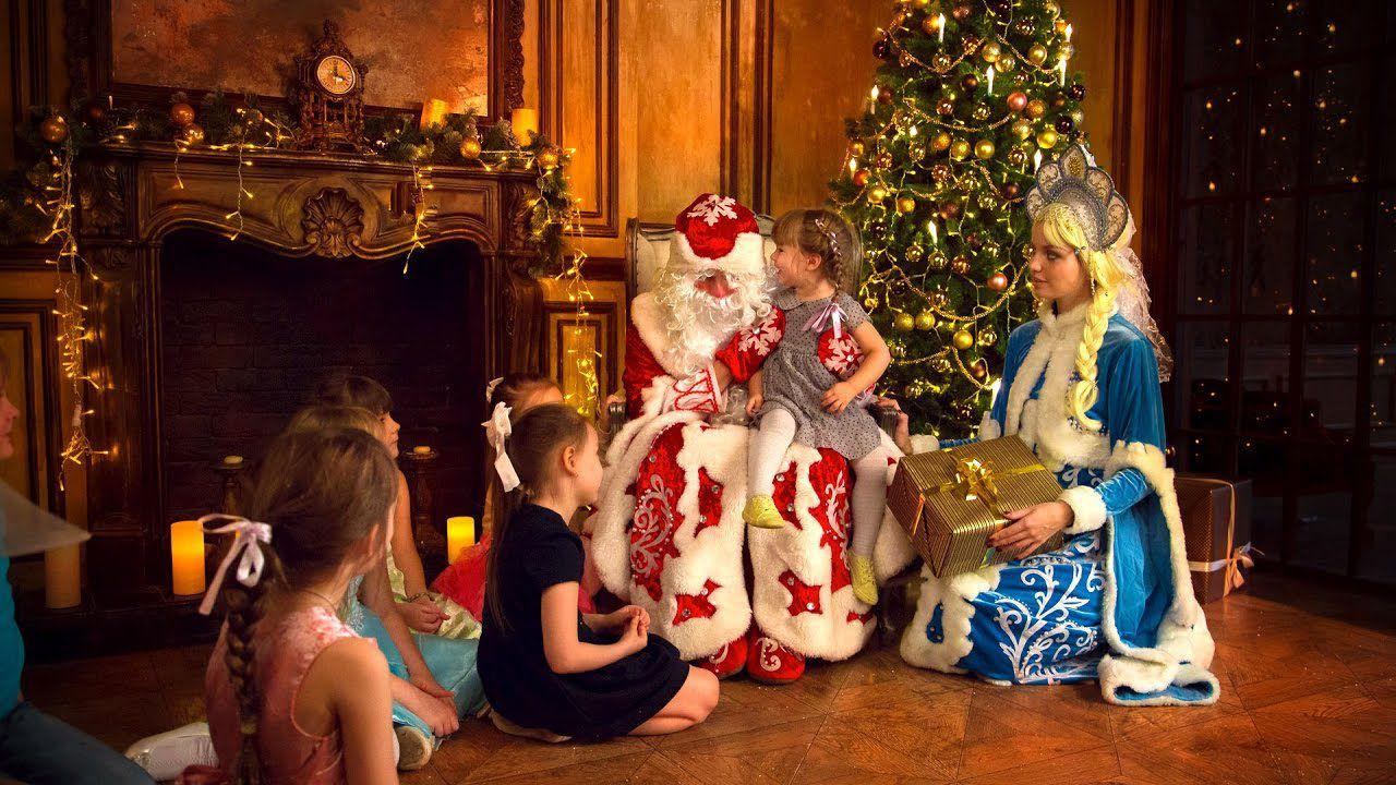 Сценарий поздравление ребенка на дому с новым годом