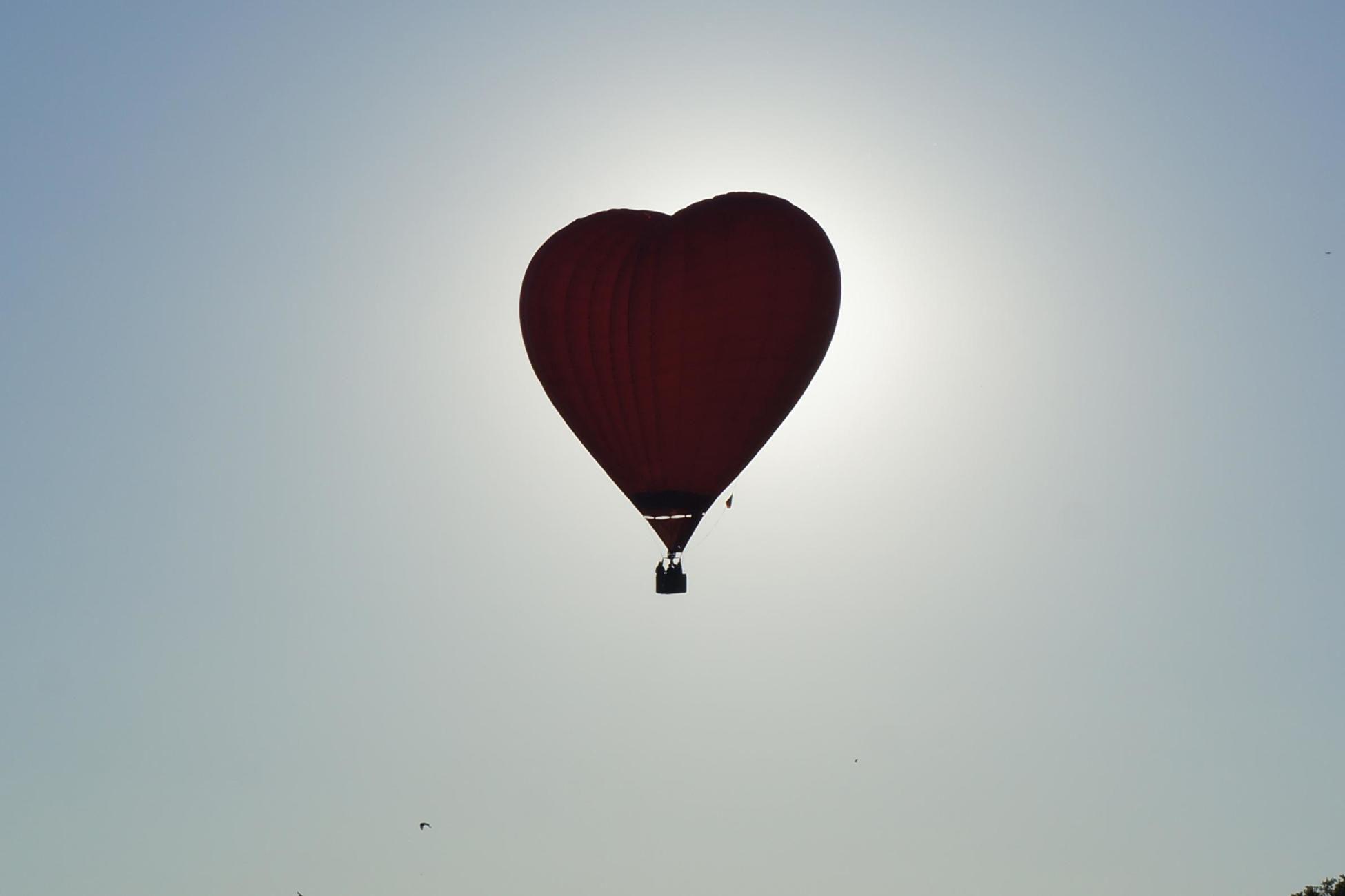 Индивидуальный полёт на воздушном шаре «Сердце» фото 2