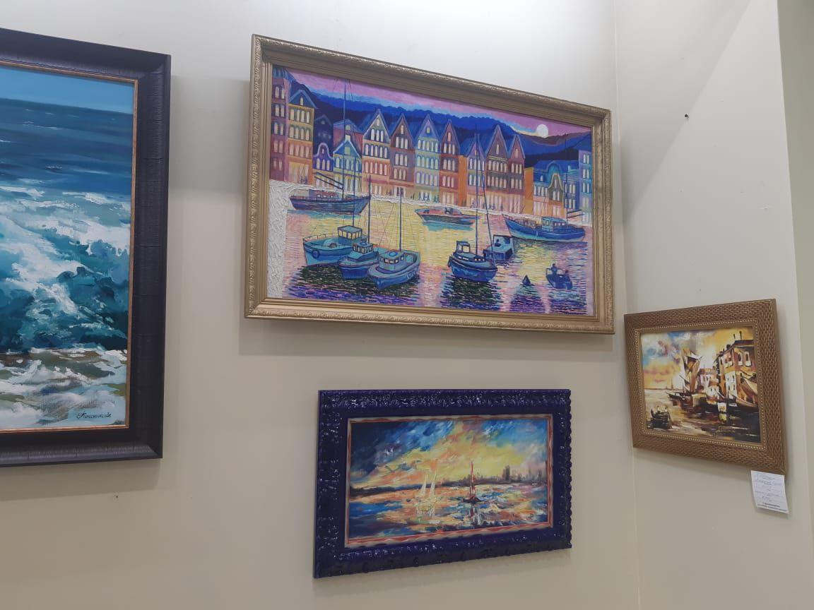 Выставка «Морской пейзаж и парусники»