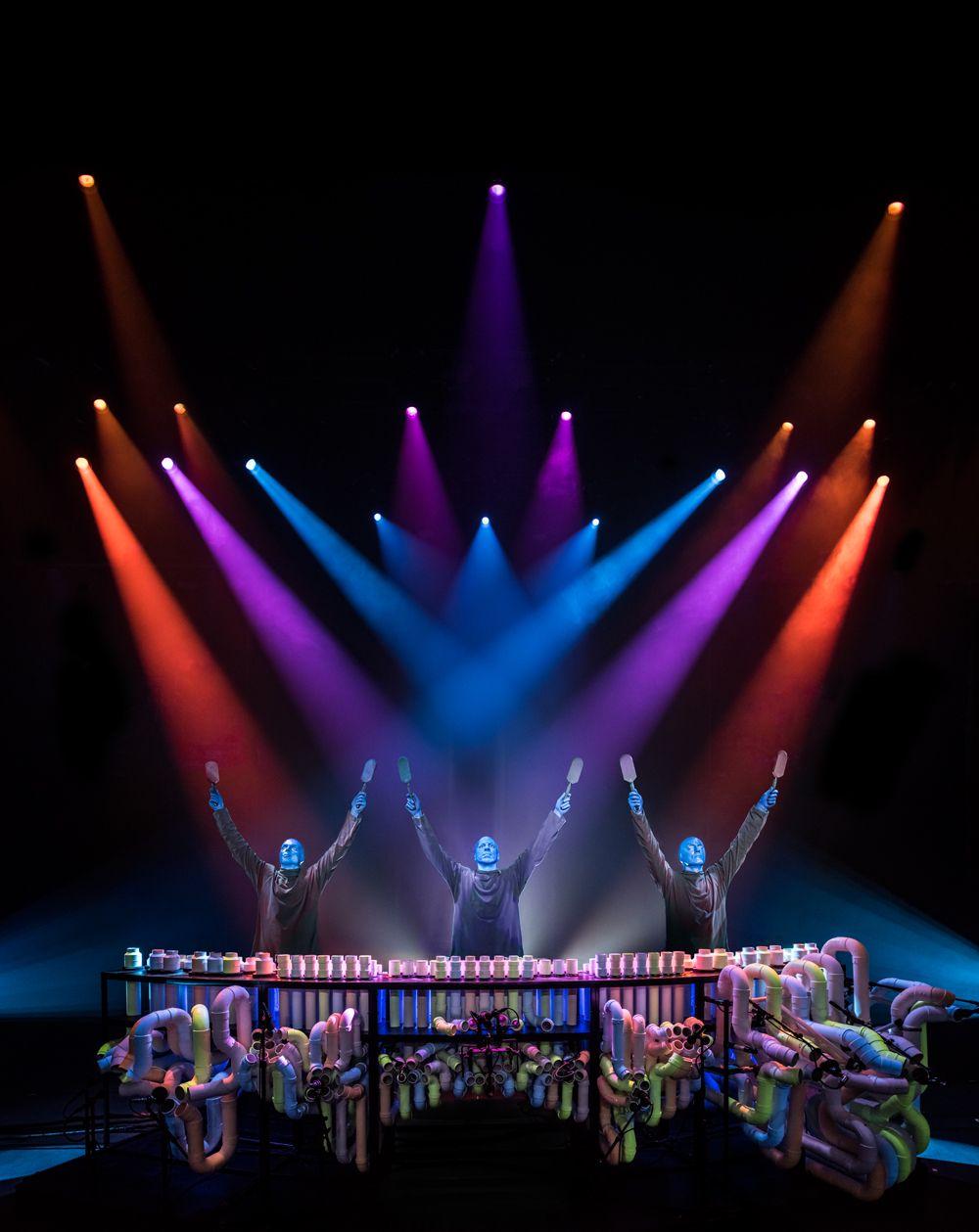 Шоу Blue Man Group фото 4