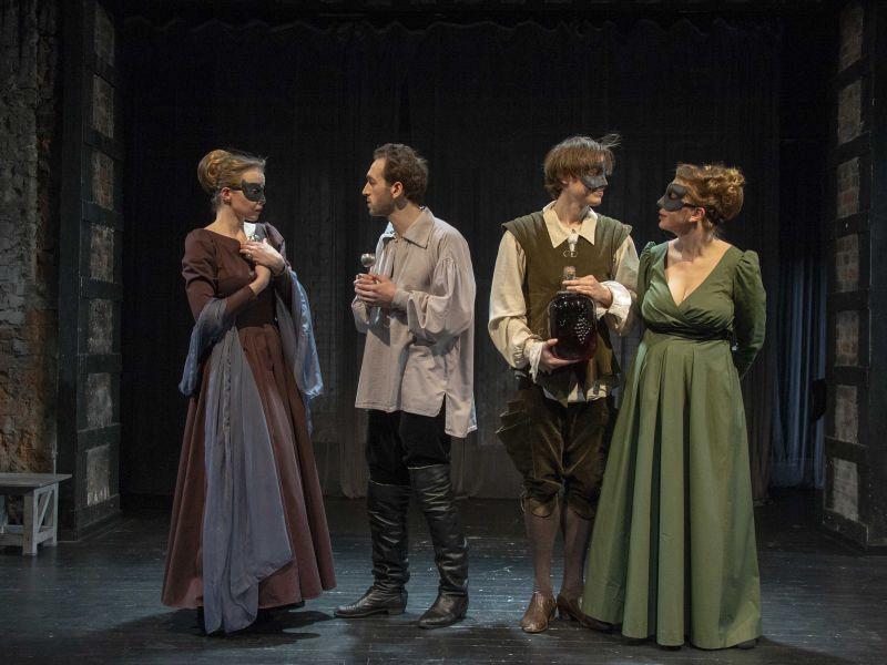 Спектакль «Комедия о вдове» в Театре имени Евг. Вахтангова фото 8