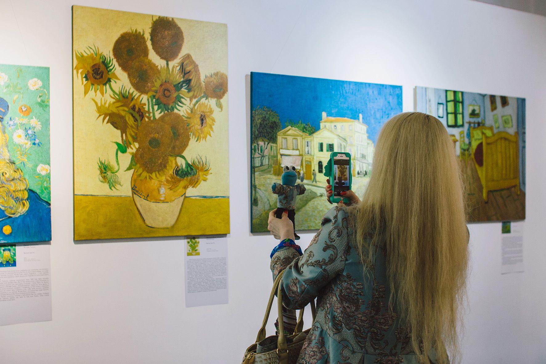 Выставка «Неизвестный Ван Гог» фото 6
