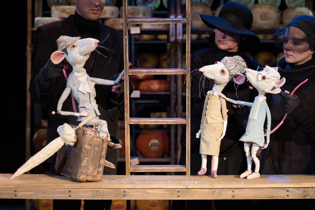 Спектакль «Все мыши любят сыр» в Московском театре кукол на Спартаковской фото 3