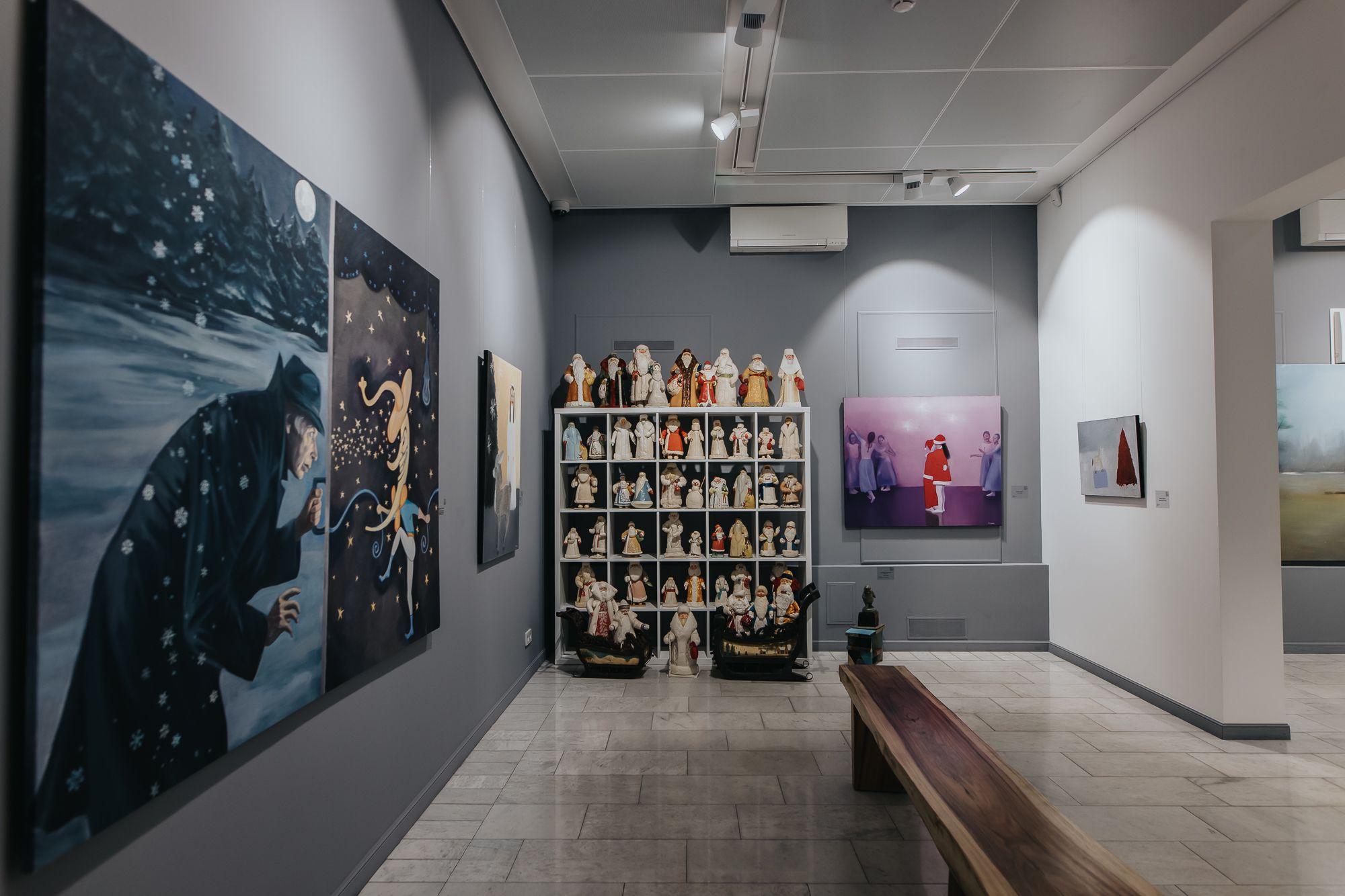 Выставка-продажа «Что происходит на свете? А просто зима» фото 3