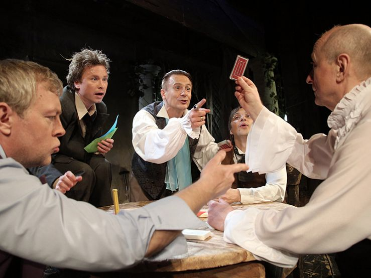 Спектакль «Игроки» в Театре им. Ермоловой фото 4