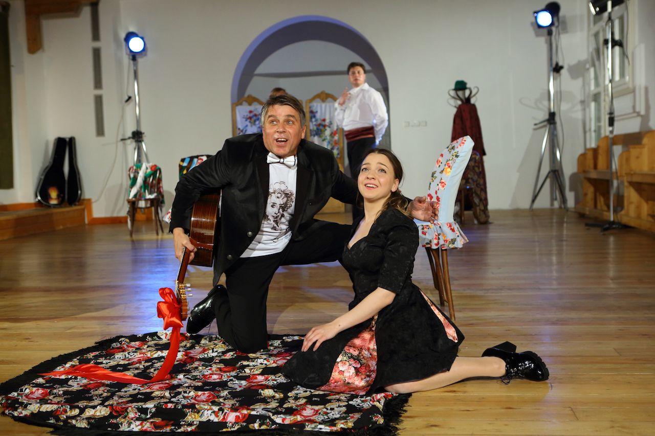 Спектакль «Граф Нулин» в Театре «Школа драматического искусства» фото 2