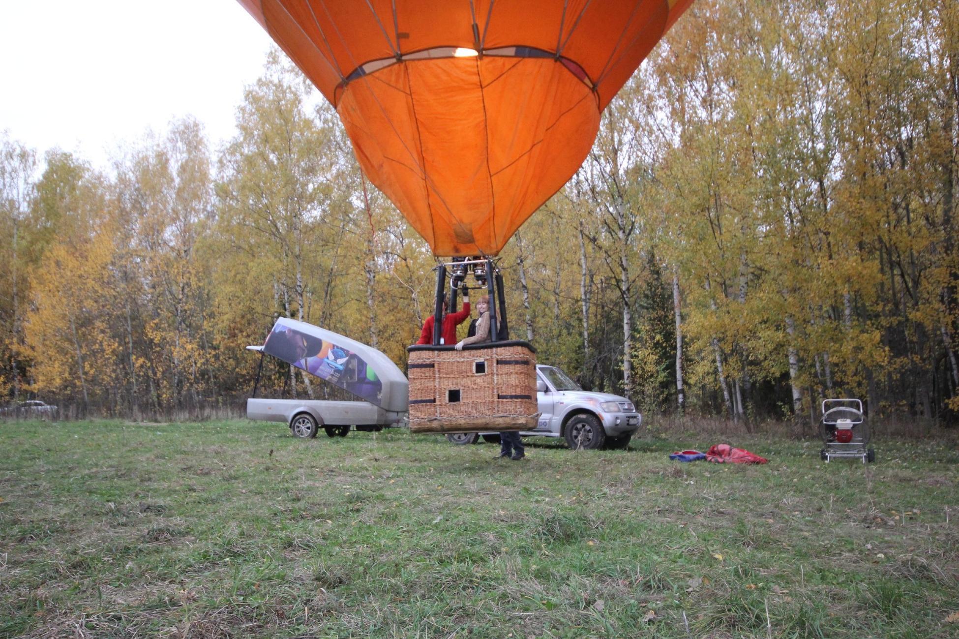 Полёт на воздушном шаре Orange фото 3
