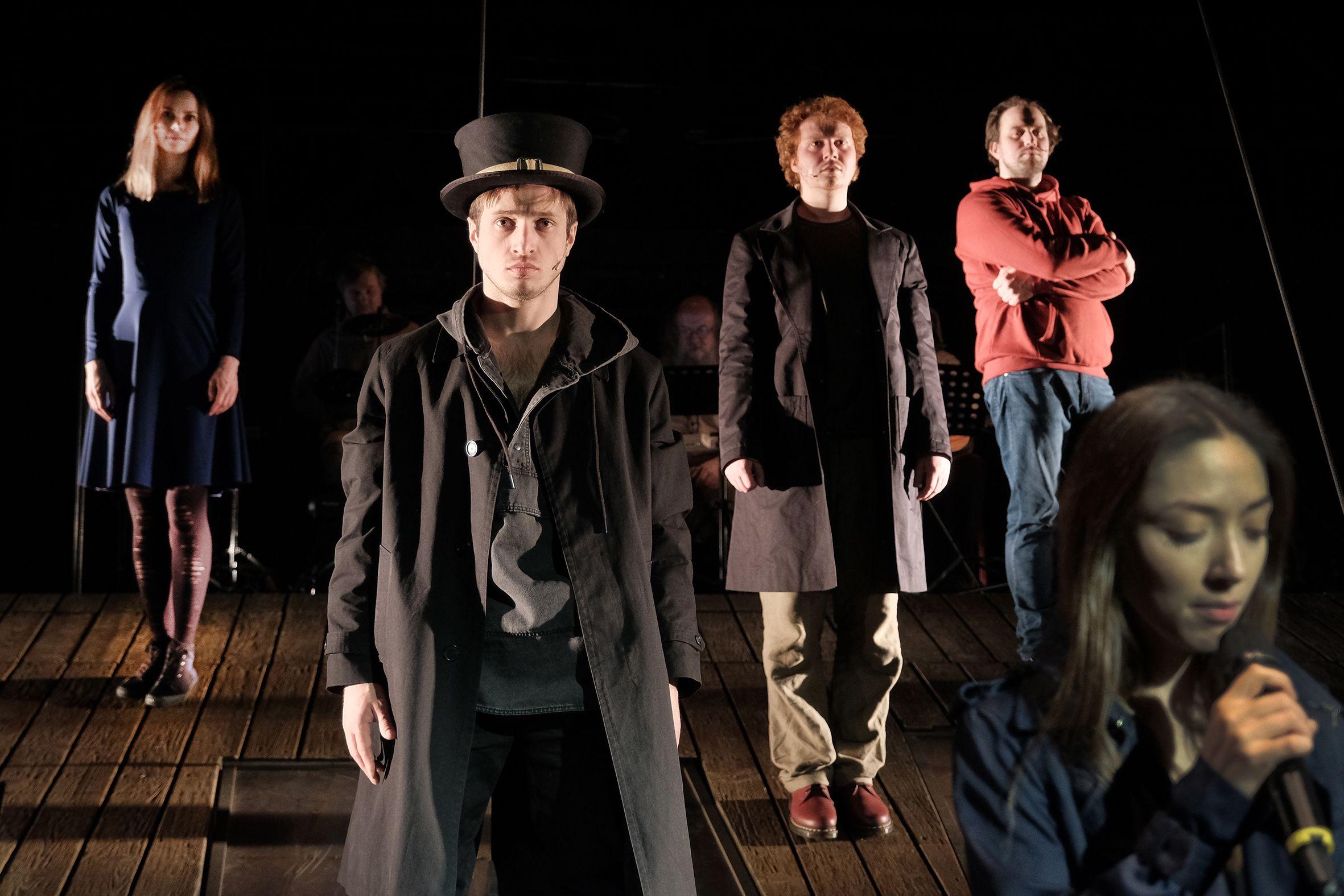Спектакль «#Осторожнобасни» в Театре Et Cetera фото 2