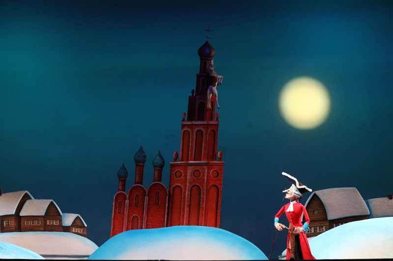 Спектакль «Барон Мюнхгаузен» в Театре кукол С. В. Образцова фото 3