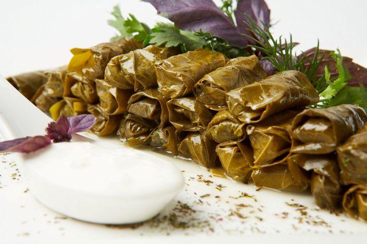 долма виноградных листьях рецепт армянский фото