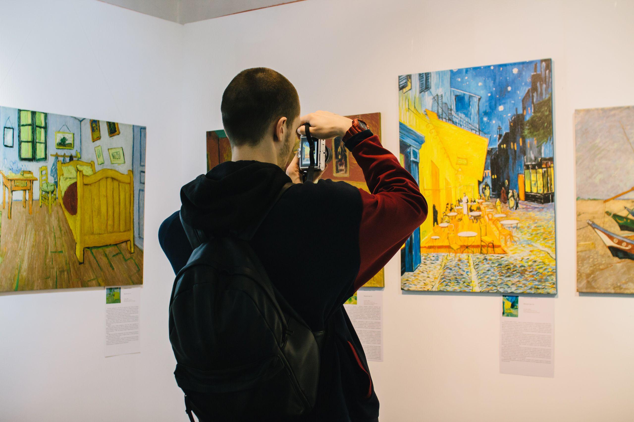 Выставка «Ван Гог и Гоген» фото 7