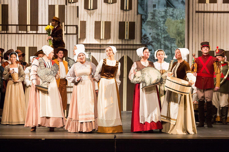 Опера «Фауст» в Театре «Новая опера» фото 6