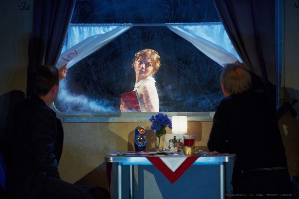 Онлайн-показ спектакля «Крейцерова соната» Новосибирского театра «Глобус» фото 1