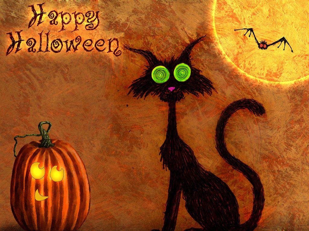 Смешная картинка на хэллоуин, днем рождения