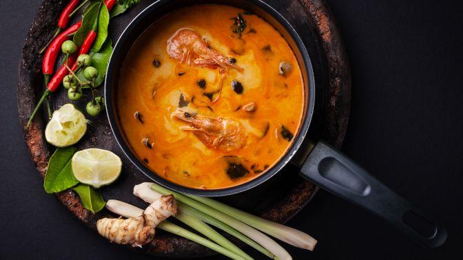 Скидка 50% на меню и напитки в ресторане Baan Thai фото 1