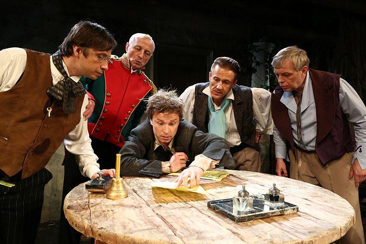 Спектакль «Игроки» в Театре им. Ермоловой фото 6