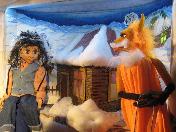 Спектакль «Не буду просить прощения, или Зимняя история» в Сказочном театре фото 3
