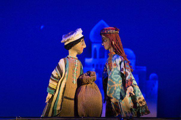 Спектакль «Али-Баба и сорок разбойников» в Театре кукол им. С. В. Образцова фото 5