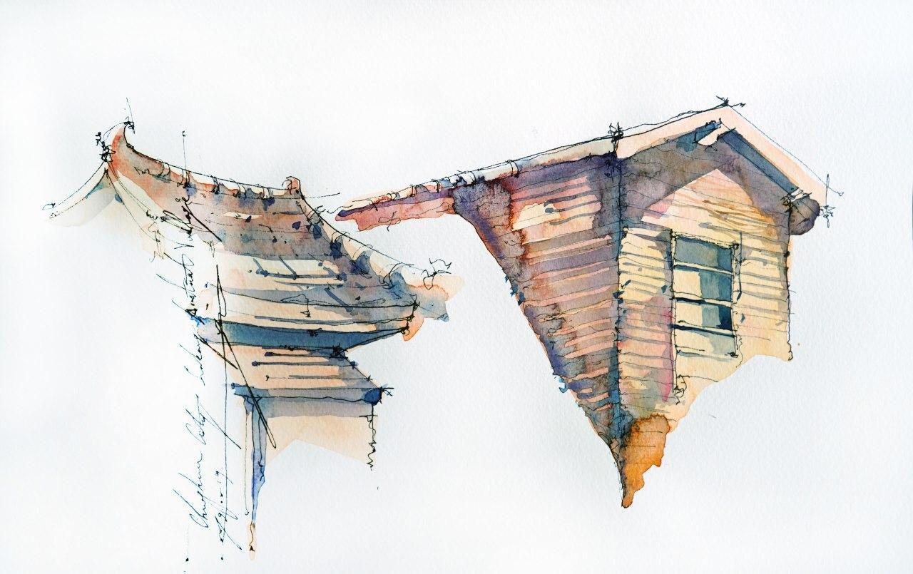 Онлайн-курс «Зарисовки путешествий» с тайваньской художницей Юджи Кай от ARTLIFE ACADEMY фото 3