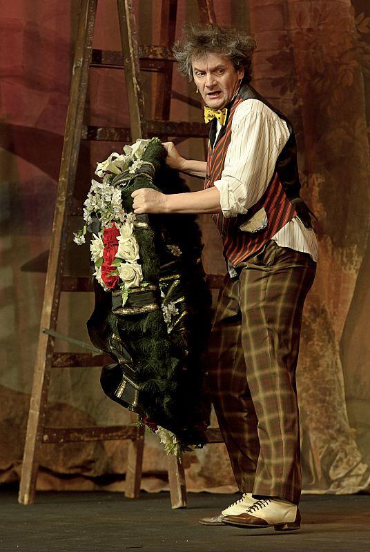 Спектакль «Мадемуазель Нитуш» в Театре им. Вахтангова фото 5