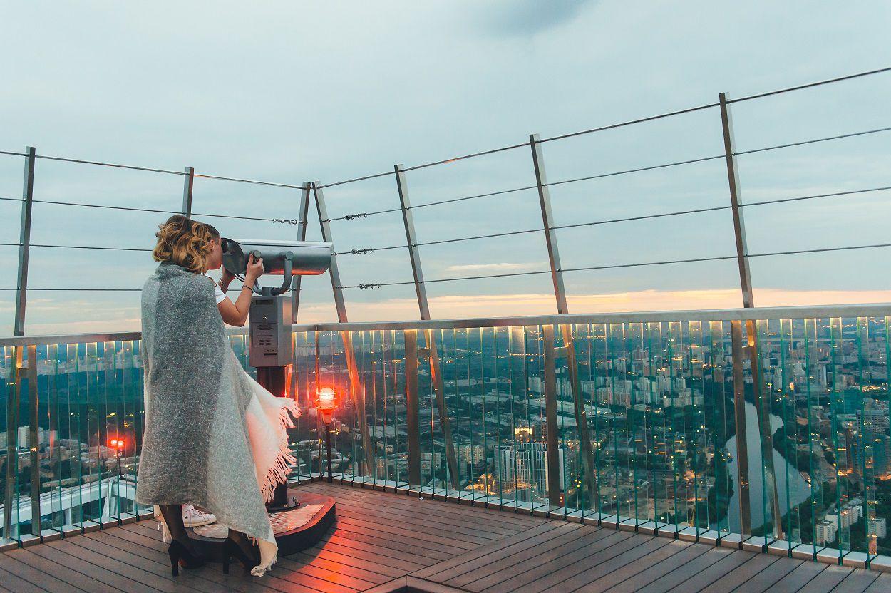 Просмотр салюта на 9 Мая с 90-го этажа «Москва-Сити» фото 11