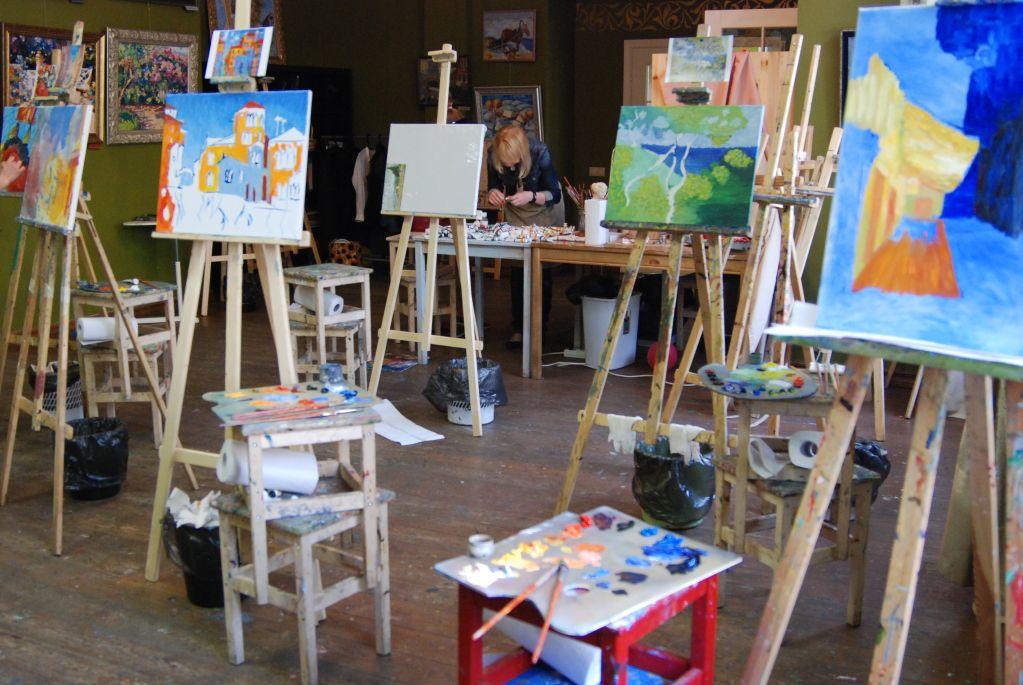 Мастер-класс живопись бесплатно