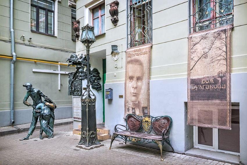 Театрализованная экскурсия «Булгаковская Москва. Однажды на Патриарших» с Воландом фото 2