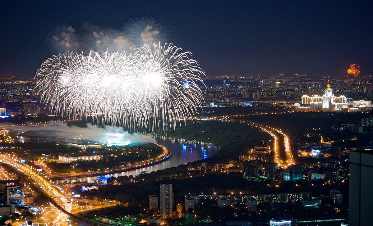 Просмотр салюта на 9 Мая с 90-го этажа «Москва-Сити» фото 7