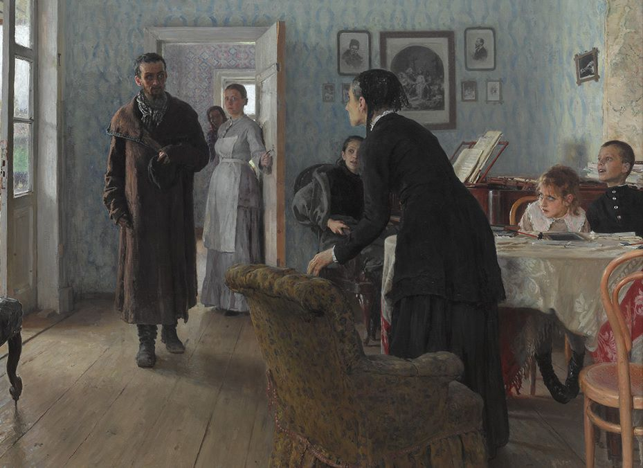 Выставка произведений Ильи Репина фото 1