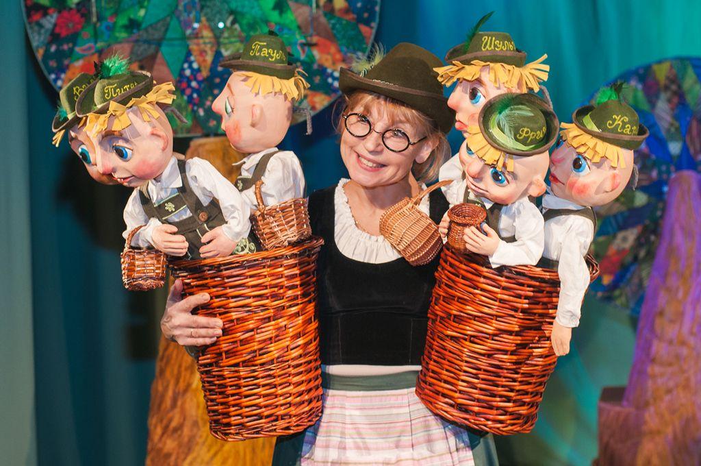 Спектакль «Мальчик-с-пальчик» в Московском театре кукол на Спартаковской фото 1