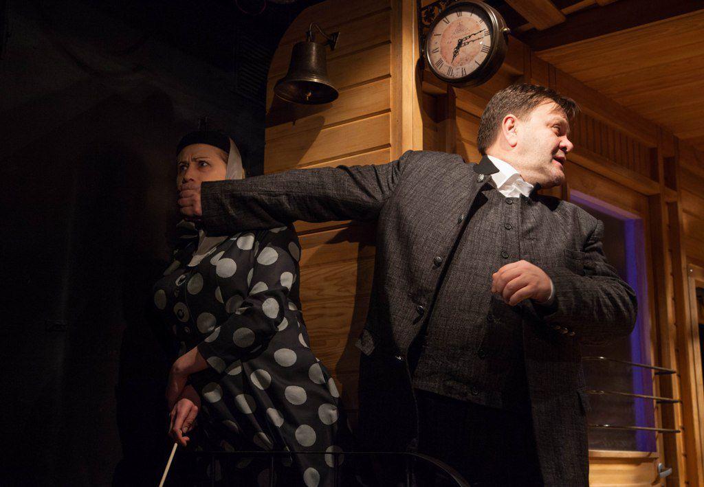 Спектакль «Безымянная звезда» в Театре Олега Табакова фото 5