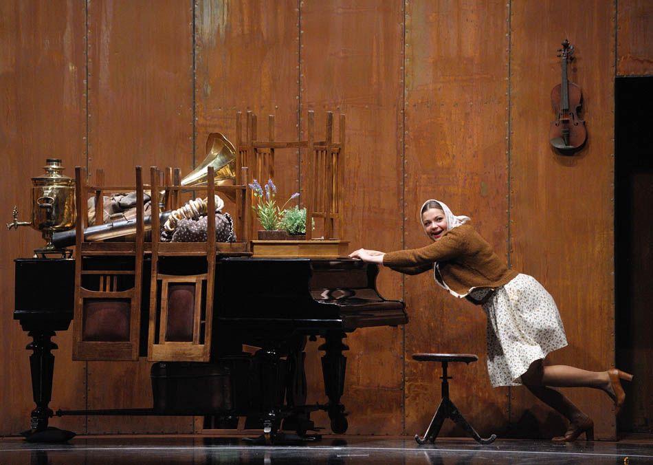 Спектакль «Таланты и поклонники» в Театре им. Вл. Маяковского фото 5
